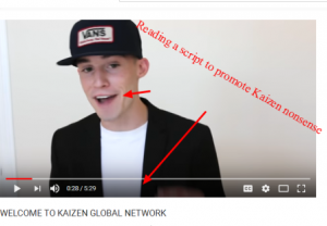 review of KAIZEN GLOBAL NETWORK YouTube