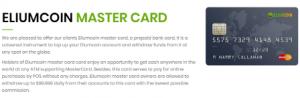 Eliumcoin mastercard