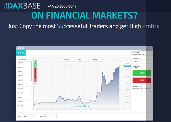 daxbase broker features