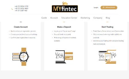 MYfintec broker